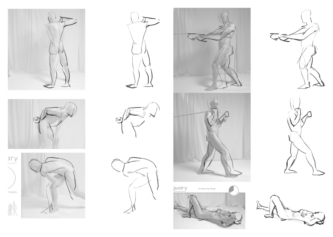 Figure Drawing For Figuary 2020
